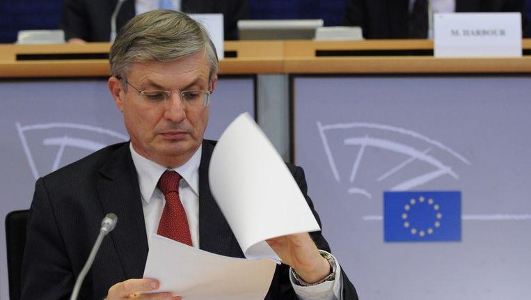 De Maltees Tonio Borg wordt Europees commissaris voor Gezondheid en Consumentenbeleid. Beeld AFP