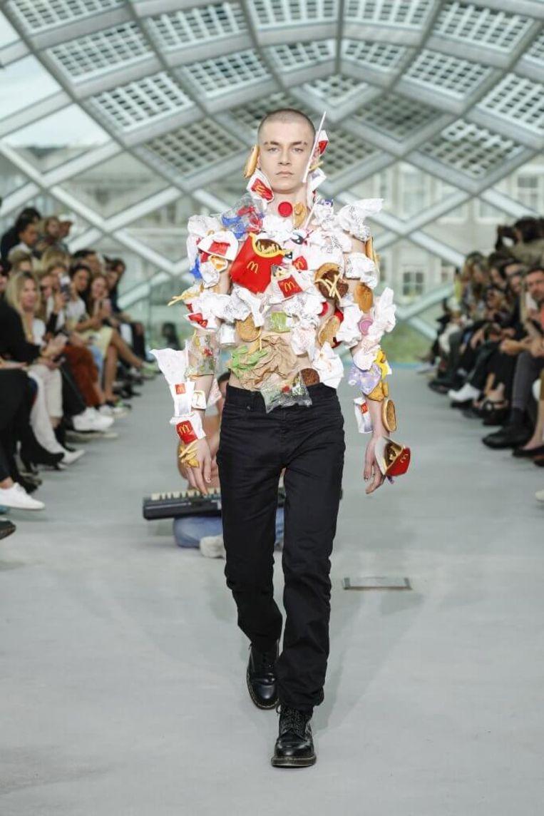 Gerecyclede mode van Duran Lantink.  Beeld Team Peter Stigter