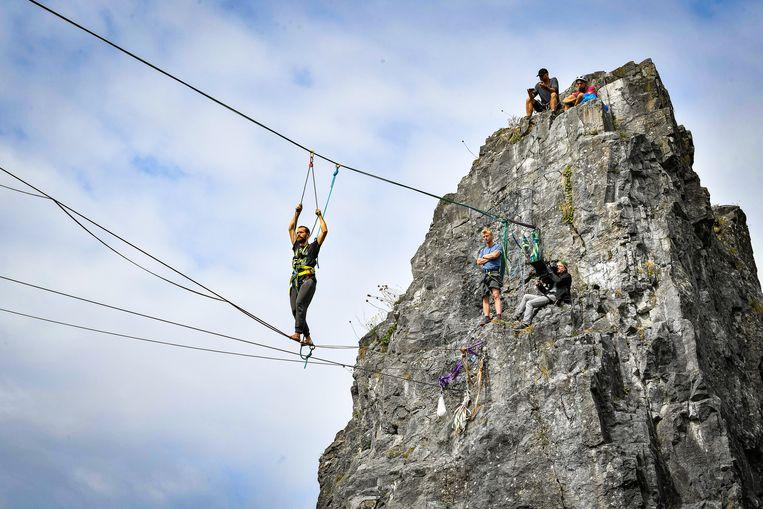Binnenkort trekken Saartje en Otto-Jan naar Frankrijk voor een duel op 120 meter hoogte.
