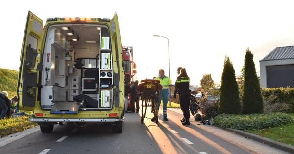 Bromfietser gewond bij ongeval in Poederoijen.