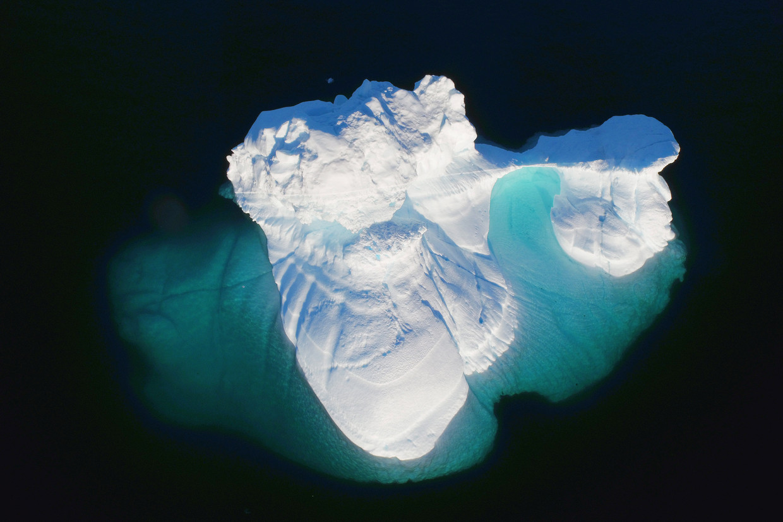 Het ijs op Groenland smelt harder dan normaal.