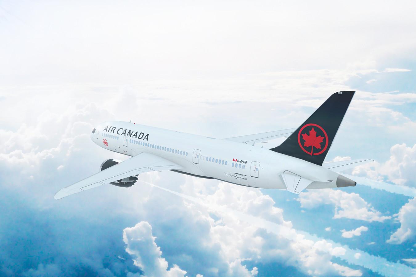 Een toestel van Air Canada. Foto ter illustratie.