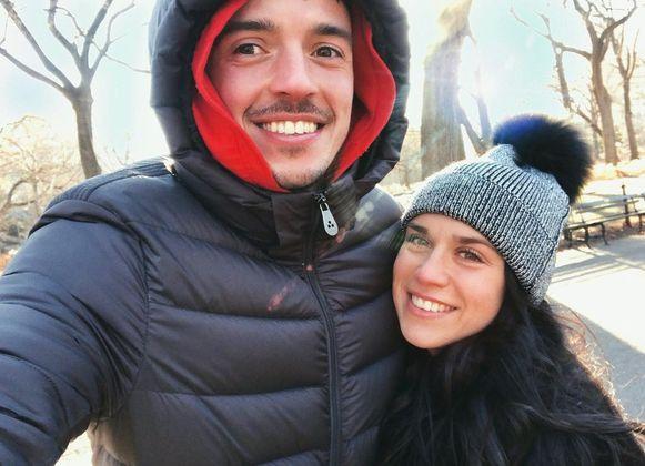 Yannick Thoelen en vriendin Kim Vandoninck - van zijn en haar facebook en instagram - 8 januari 2018