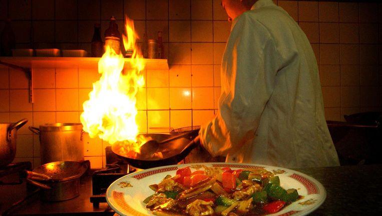 'Nederland telt 2500 Chinese en Aziatische restaurants met 30 duizend medewerkers', aldus VCHO-woordvoerder Antony van der Klis. Beeld Raymond Rutting/de Volkskrant