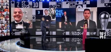 """Messi oublie CR7, les stars citent De Bruyne, les préférences d'Hazard et Martinez: le détail des votes """"The Best"""""""