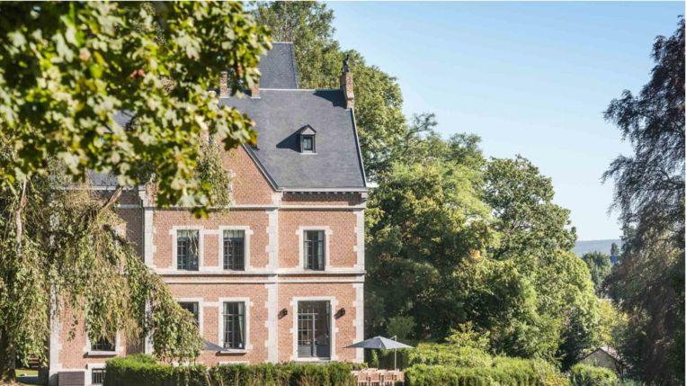 In B&B Chateau Beausaint kan je genieten van prachtige vergezichten.