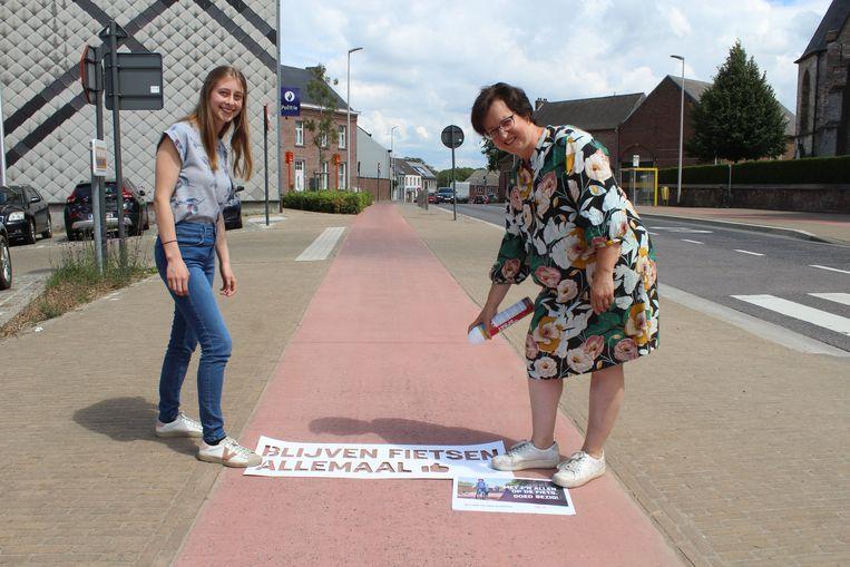 De campagne werd ook door de gemeente Pepingen waar gemaakt.