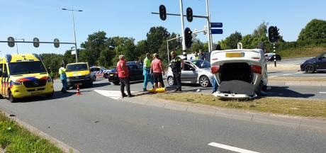 Gewonde bij botsing tussen drie auto's in Amersfoort
