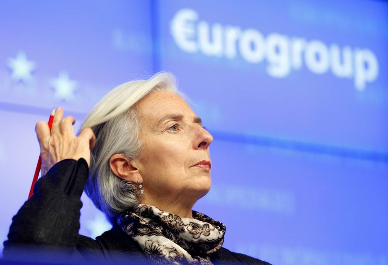 IMF-topvrouw Christine Lagarde Beeld REUTERS