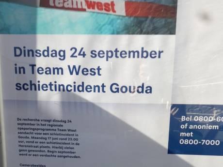 Recherche toont dinsdag camerabeelden van schietincident in Gouda in uitzending 'Team West'