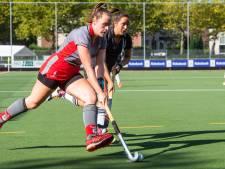 Hockeysters Zwart-Wit trekken derby naar zich toe, Push-heren haken aan na buitenshuis gelijkspel