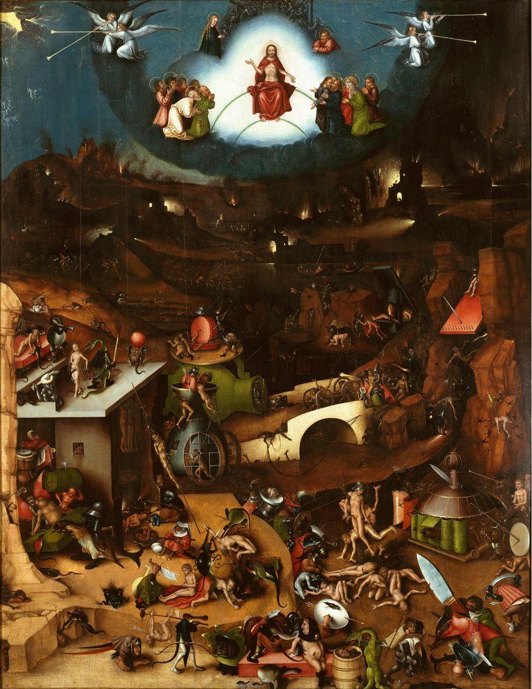 Laatste Oordeel door Jheronimus Bosch (middenpaneel) Beeld