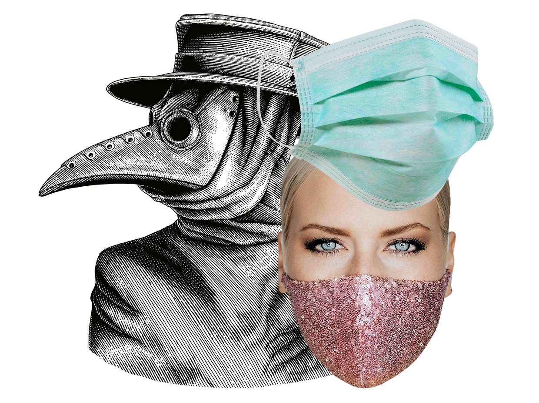 Hoe het mondmasker essentiële mode werd: ook hippe ontwerpers ...
