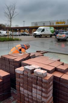 Werken aan Marsdijk en bij winkelcentrum Lienden