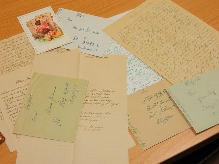 De brieven van Duitse soldaten.
