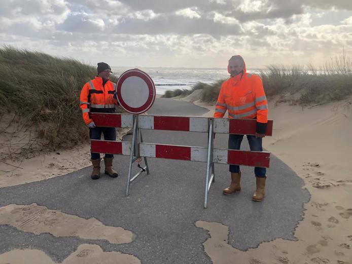 Sommige strandovergangen zijn verboden terrein.
