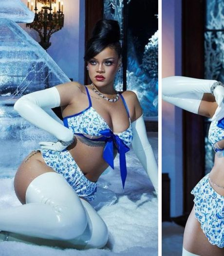 Rihanna fait monter la température avec sa nouvelle collection de lingerie