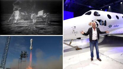 50 jaar na de maanlanding: de nieuwe ruimtewedloop onder miljardairs