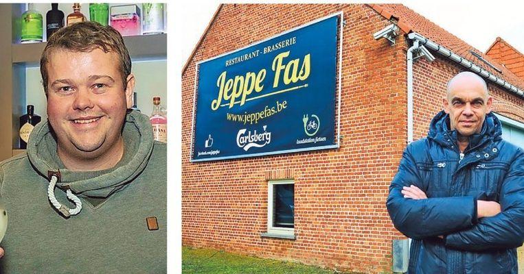 Links: de nieuwe eigenaar, Yves Peeters. Rechts: Patrick Van Loo.