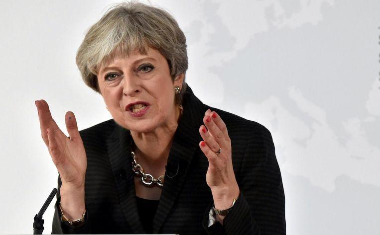 Theresa May Beeld null