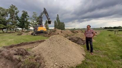 Wingense boeren kunnen (tijdelijk) weer water pompen uit bufferbekken Hille-Zuid