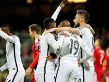 Frankrijk verstevigt leiding in groep A met winst op Luxemburg