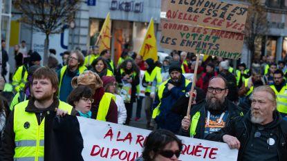 Honderdtal 'gele hesjes' voeren actie in Namen