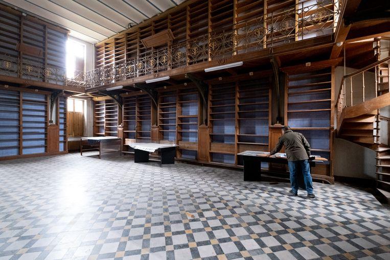 BORNEM De renovatie van de Sint-Bernardusabdij is aan de gang, nu is de bibliotheek aan de beurt.