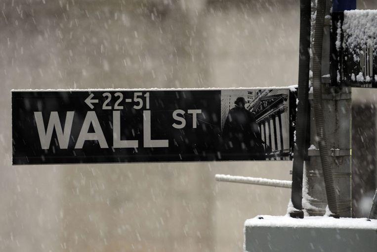 Wall Street (AP) Beeld