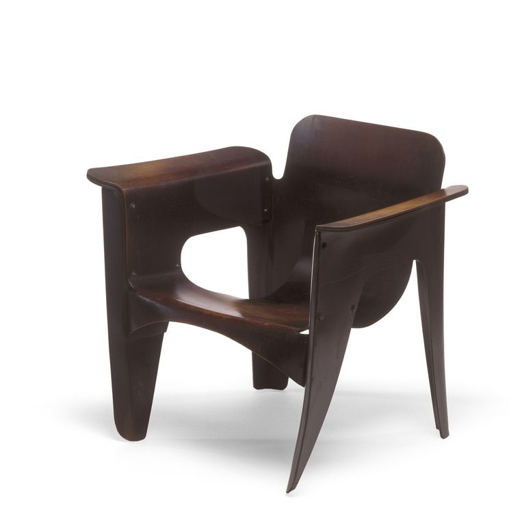 Gerrit Rietveld, Birza stoel 1927 Beeld Stedelijk Museum