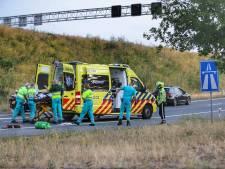 Skeeleraar geschept op oprit A12 bij Driebergen
