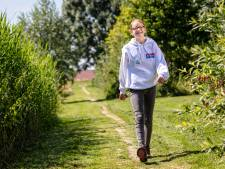 Puck (12) uit Ter Aar geeft startschot voor Nijmeegse Vierdaagse
