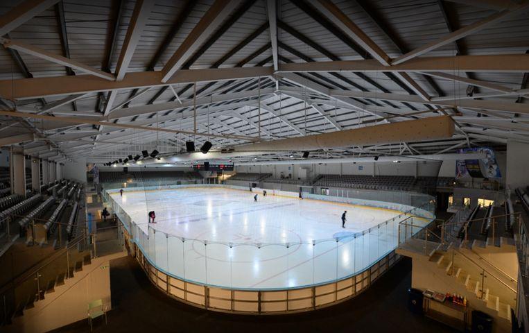 Planet Ice in Milton Keynes, ten noordwesten van Londen.