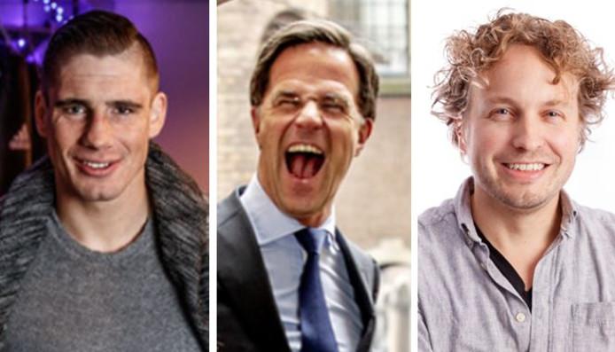 Je zou het niet meteen zeggen, maar Rico Verhoeven en Mark Rutte hebben wat van elkaar weg, vindt columnist Niels Herijgens