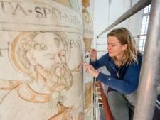 Restauratie muurschilderingen Grote Kerk gestart