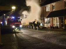 Woning aan Pauwenhoeve in Leusden in brand