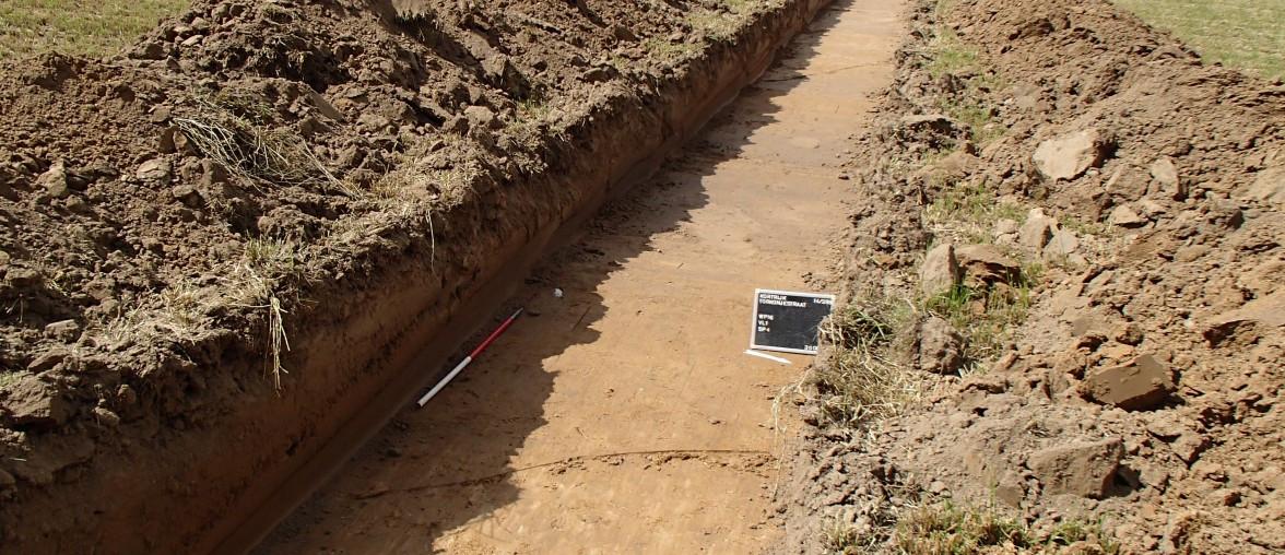 Archeologen van BAAC hebben in Voorthuizen restanten gevonden van jager-verzamelaars uit de Midden Steentijd.