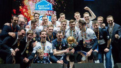 Aalsterse volleymannen kunnen Roeselare niet van twaalfde beker houden, bij de vrouwen is Oostende de winnaar