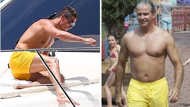 """Nederlandse volkszanger: """"Ronaldo imiteert mij met gele zwembroek"""""""