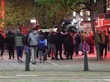 Prostitutiestraat in Den Haag dicht vanwege te veel bezoekers