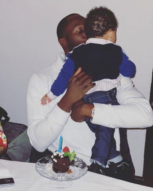 Romelu Lukaku viert de verjaardag van zijn zoontje Romeo