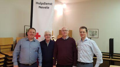 Rode Kruis Nevele neemt afscheid van voorzitter en afdelingsverantwoordelijke