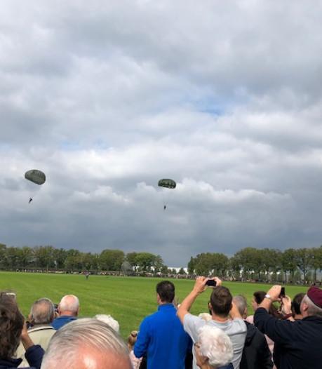 D-Day in Brabant; ook 'Pee Wee' Martin (98) is geland op Vlagheide bij Eerde