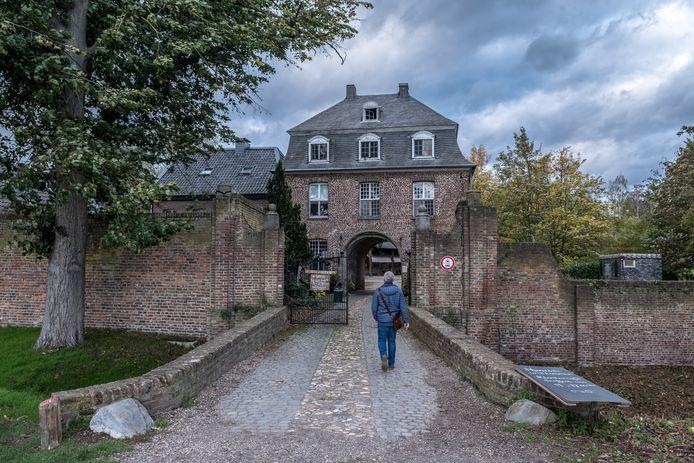 Klooster Graefenthal in Goch, waar de Duitse politie onlangs een inval deed.