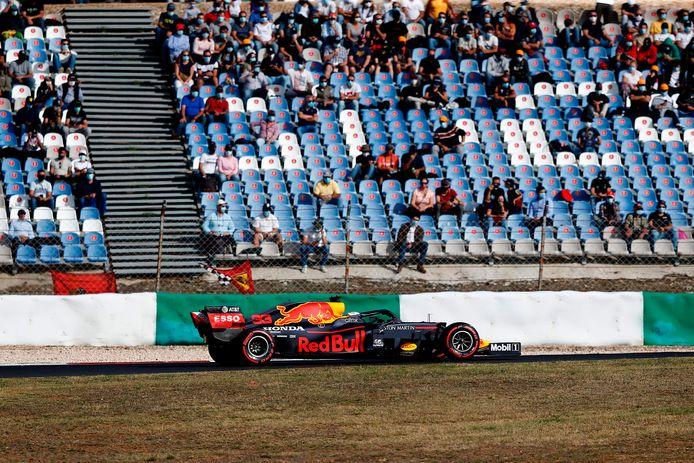 Max Verstappen in  Portimão.
