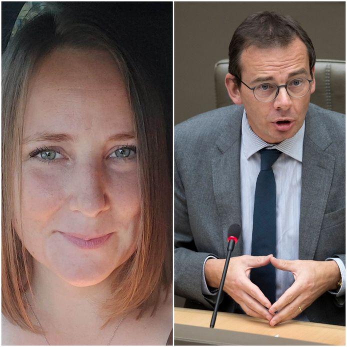 Sarah Demeulenaere richt zich in een brief tot minister Wouter Beke.
