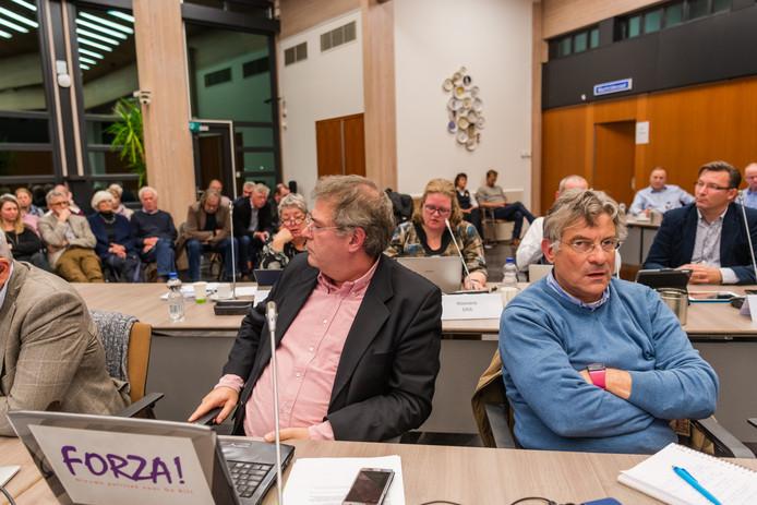 Volle bak bij de commissievergagering over de bouwplannen in Bilthoven Noord