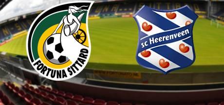 Fortuna Sittard - Heerenveen