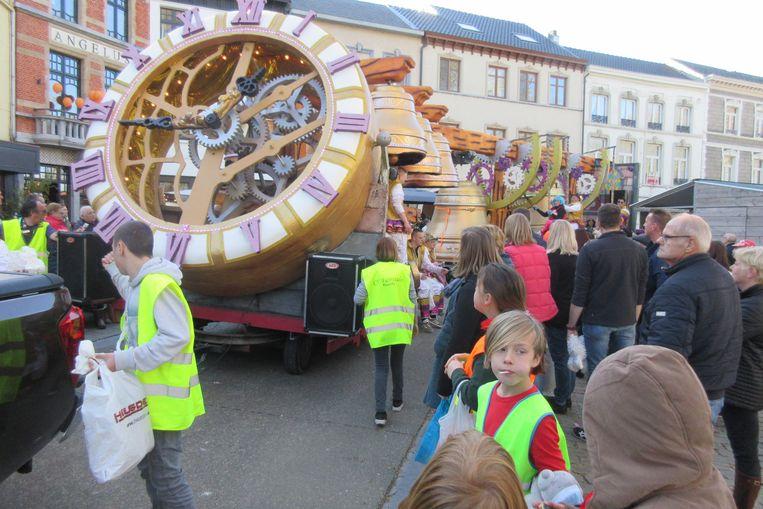 De wagen met klokken van Fairytales uit Ransberg.