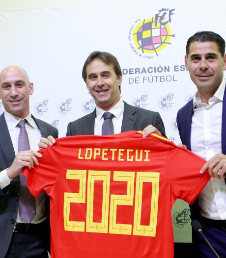 Lopetegui tot medio 2020 bondscoach Spanje